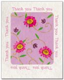 Thank You Note Cards - Blank inside