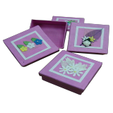 Pink Valentine boxes
