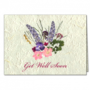 Get Well Soon Note Card