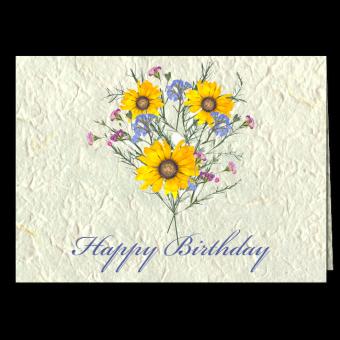 Happy Birthday Note Card