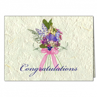 Congratulations Note Card