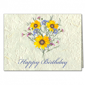 Happy Birthday Note Card